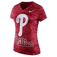 Women's Nike Philadelphia Phillies Pattern Dri-FIT Tee
