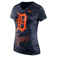 Women's Nike Detroit Tigers Pattern Dri-FIT Tee