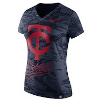 Women's Nike Minnesota Twins Pattern Dri-FIT Tee