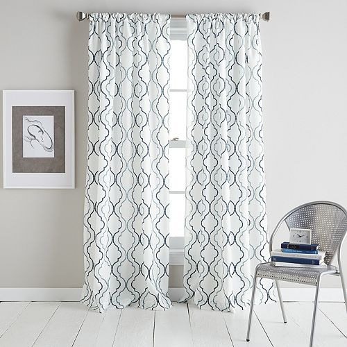 Coco Print Window Curtain