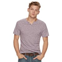 Big & Tall Rock & Republic Textured Notchneck Tee