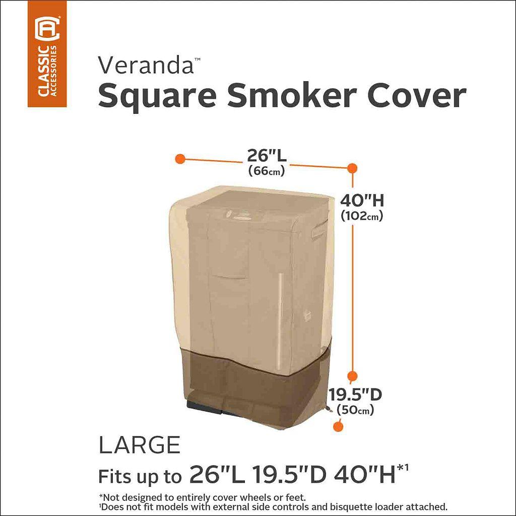 Veranda Large Square Smoker Cover