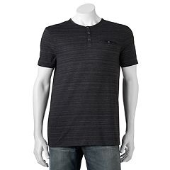 Big & Tall Rock & Republic Classic-Fit Textured Henley