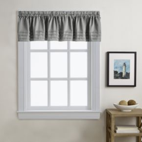 Addison Twill Solid Window Valance