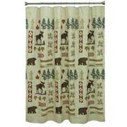 Bacova North Ridge Shower Curtain