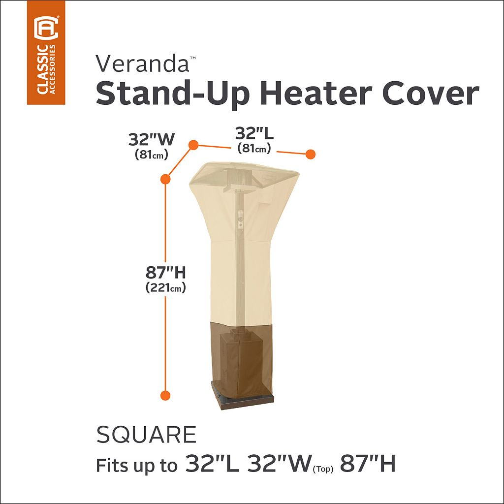 Veranda Square Patio Heater Cover