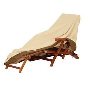 Veranda Patio Steamer Chaise Lounge Chair Cover