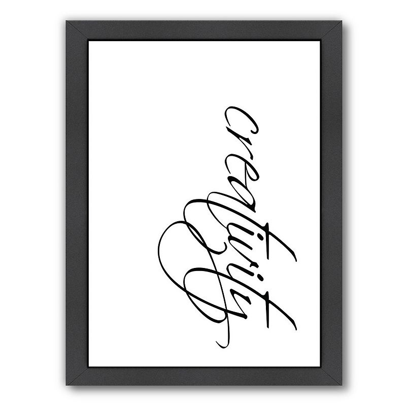 Americanflat Creativity Framed Wall Art, Medium