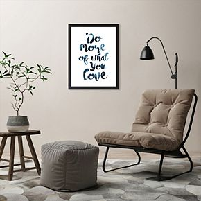 Americanflat Do More Of What You Love Framed Wall Art