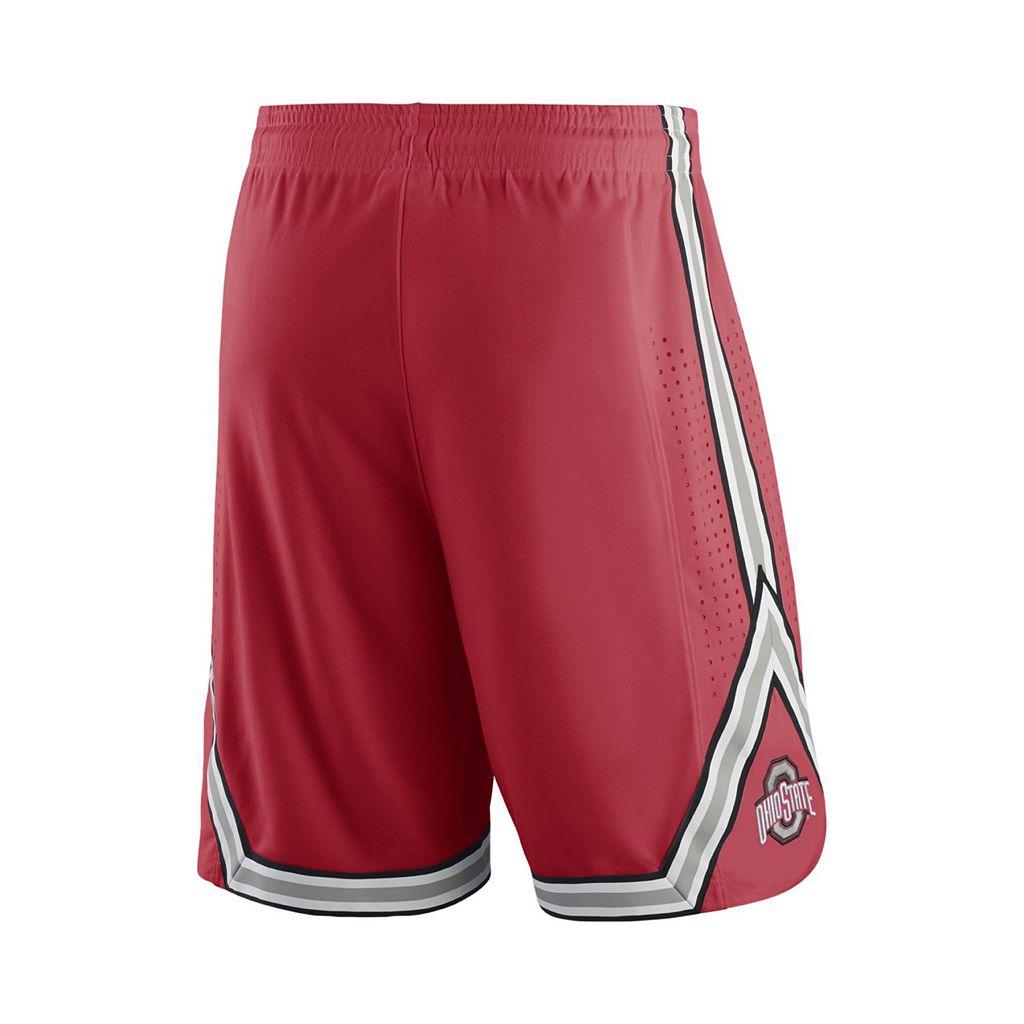 Men's Nike Ohio State Buckeyes Rep Basketball Shorts