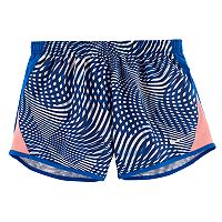 Girls 7-16 Nike 10K Patterned Athletic Shorts