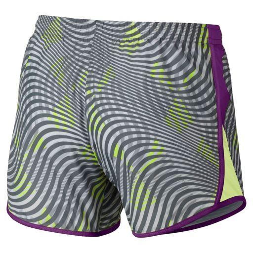 Girls 7-16 Nike 10K Patterned Athletic Shorts