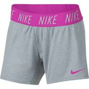 Girls 7-16 Nike Exposed Waistband Shorts