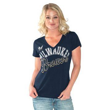 Women's Milwaukee Brewers Home Field Tee