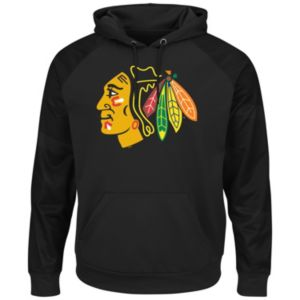 Men's Majestic Chicago Blackhawks Domestic Armor Hoodie