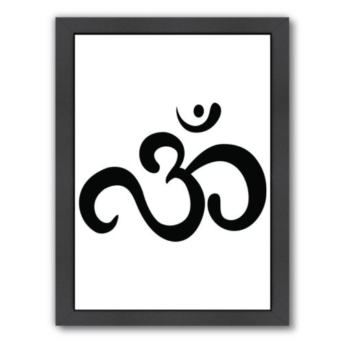 Americanflat Ohm Framed Wall Art