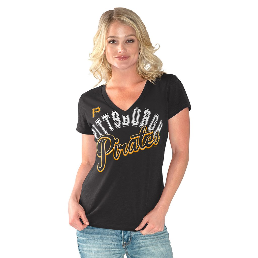 Women's Pittsburgh Pirates Home Field Tee