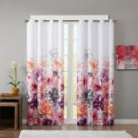 Intelligent Design Blackout 1-Panel Cassidy Window Curtain
