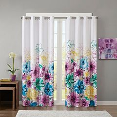 Intelligent Design Blackout 1-Panel Ashley Window Curtain