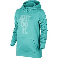Women's Nike Therma Training 'Just Do It' Graphic Hoodie