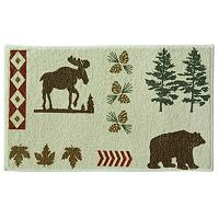 Bacova North Ridge Printed Bath Rug