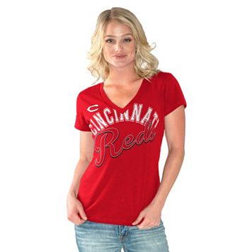 Women's Cincinnati Reds Home Field Tee