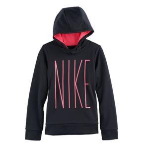 """Girls 7-16 Nike """"NIKE"""" Therma Fleece Hoodie"""