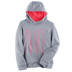 Girls 7-16 Nike 'NIKE' Therma Fleece Hoodie