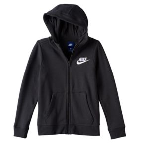 Girls 7-16 Nike Fleece-Lined Zip-Up Hoodie