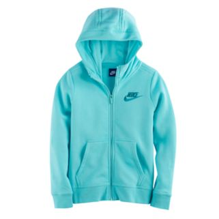 Girls 7-16 Nike Fleece-Lined Zip-Up Hoodie