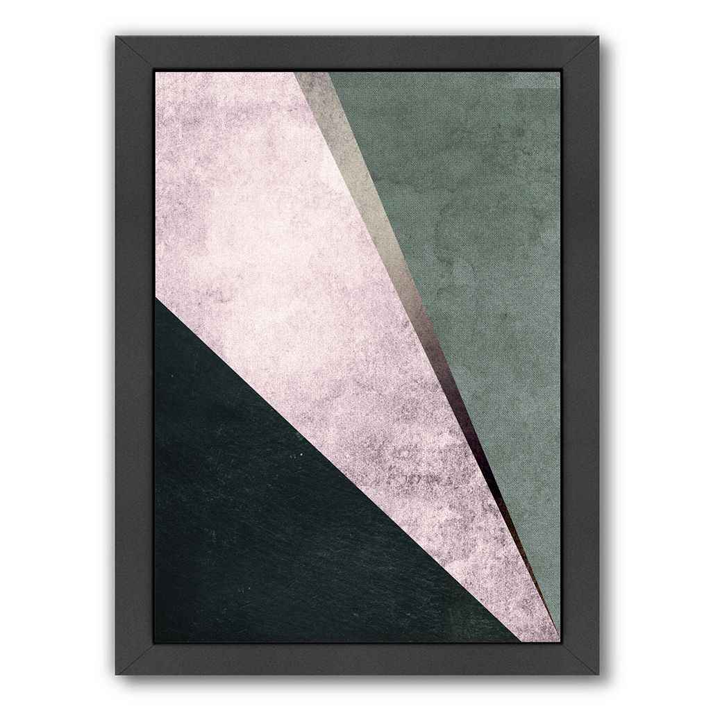 Americanflat Geometric Art 1 Framed Wall Art