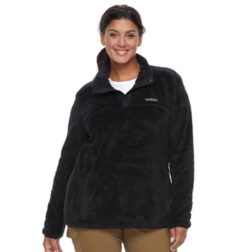 Plus Size Columbia Double Springs Fleece Pullover Sweatshirt