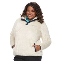 Plus Size Columbia Double Springs Fleece Pullover Sweatshirt