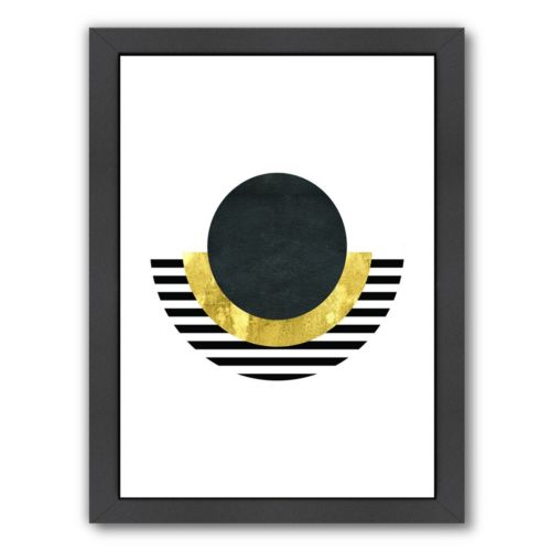Americanflat Geometric Art 2 Framed Wall Art