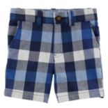 Boys 4-8 Carter's Plaid Shorts