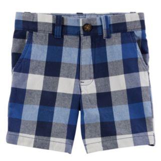 Boys 4-8 Carter's Plaid Shorts