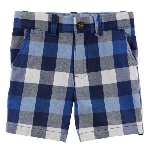 Toddler Boy Carter's Plaid Shorts