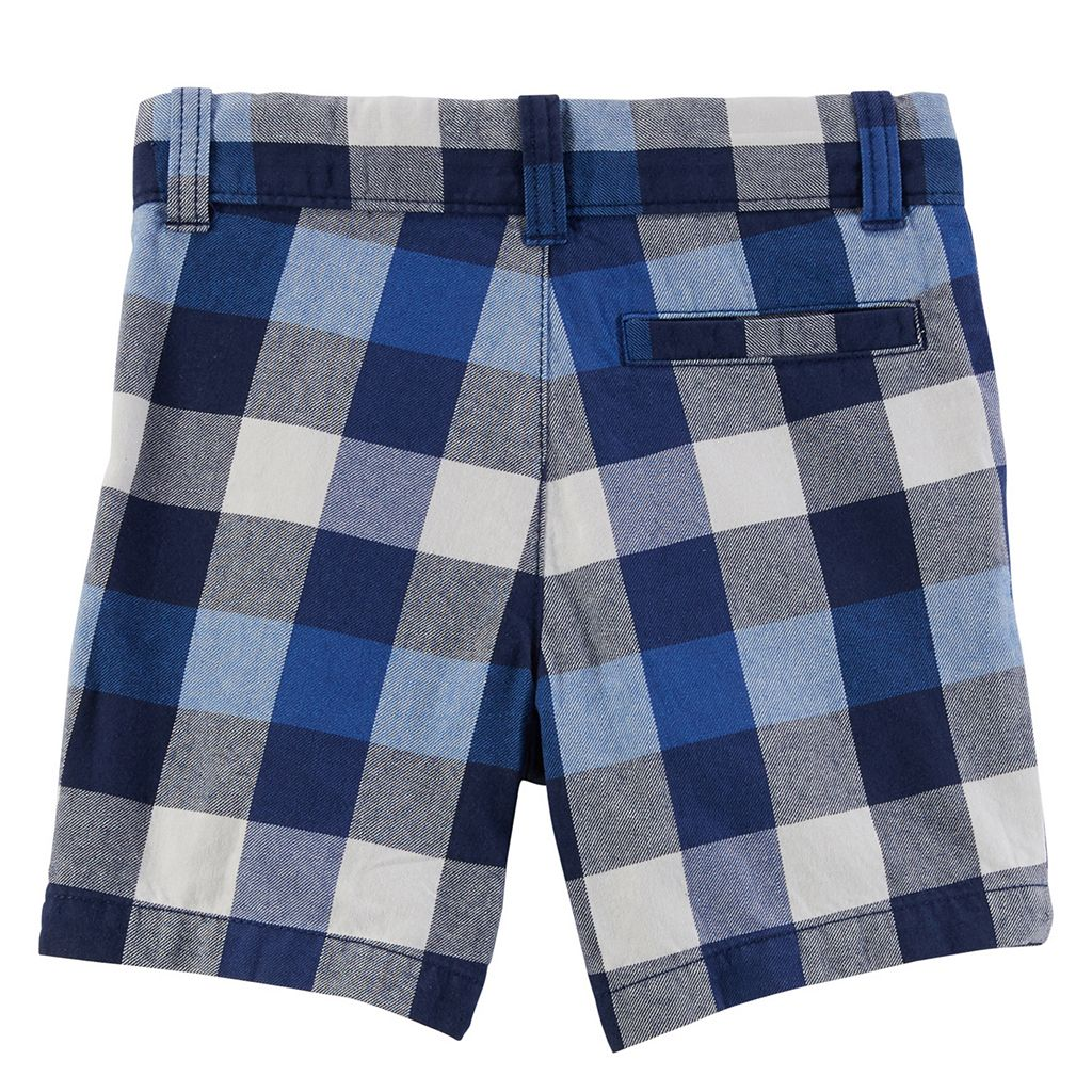 Baby Boy Carter's Plaid Shorts