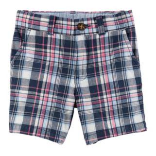 Baby Boy Carter's Plaid Shorts