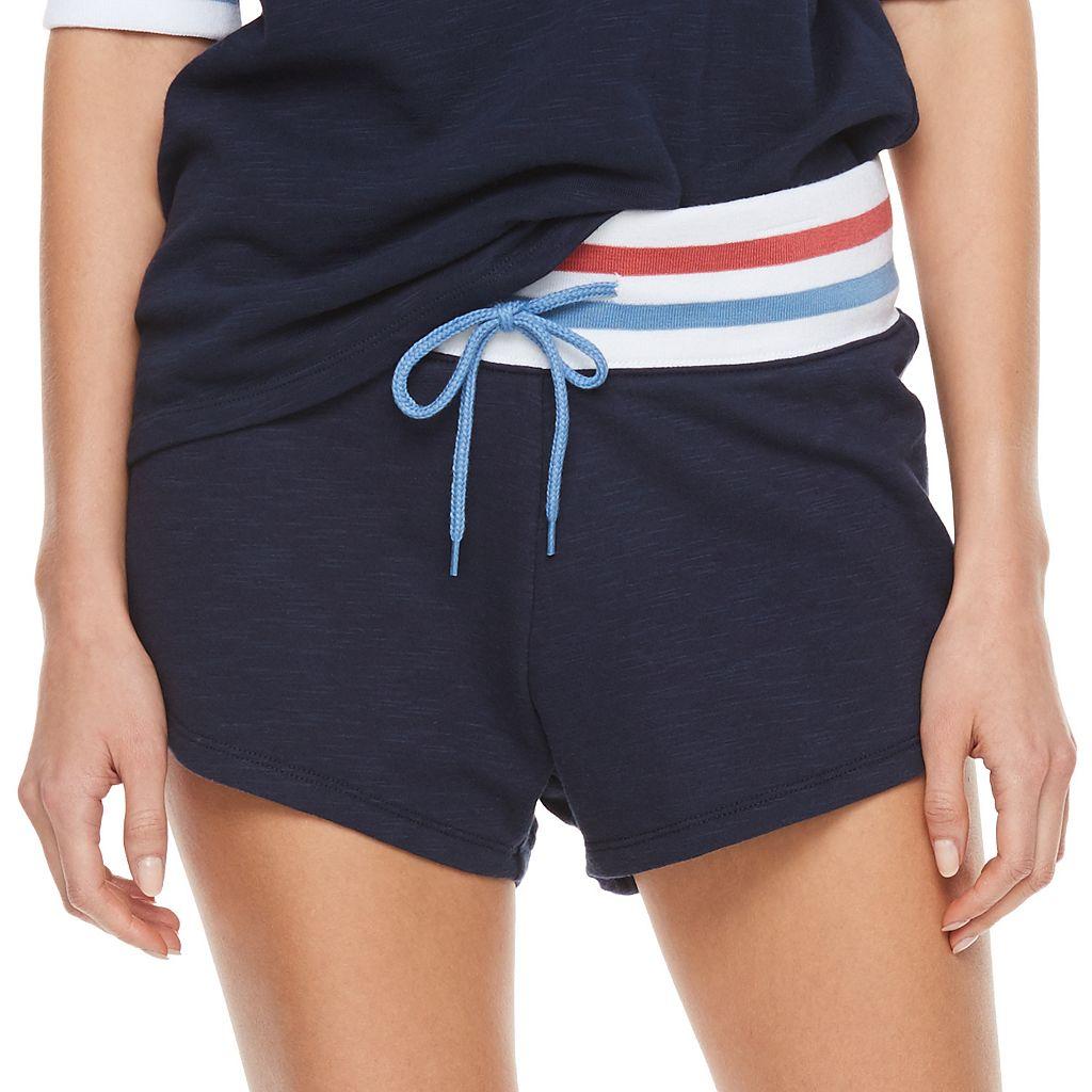 madden NYC Juniors' Drawstring Varsity Shorts