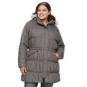 Plus Size Columbia Sparks Lake Thermal Coil Hooded Anorak Jacket