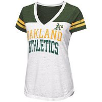 Women's Oakland Athletics Team Spirit Tee