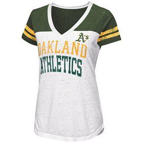 Women's Oakland Athletics Team Spirit Tee