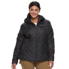 Plus Size Columbia Copper Crest Hooded Quilted Jacket