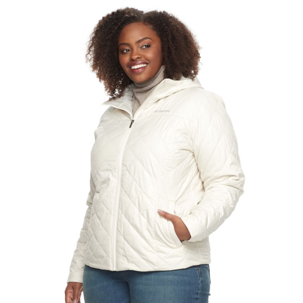 size columbia copper crest hooded quilted jacket
