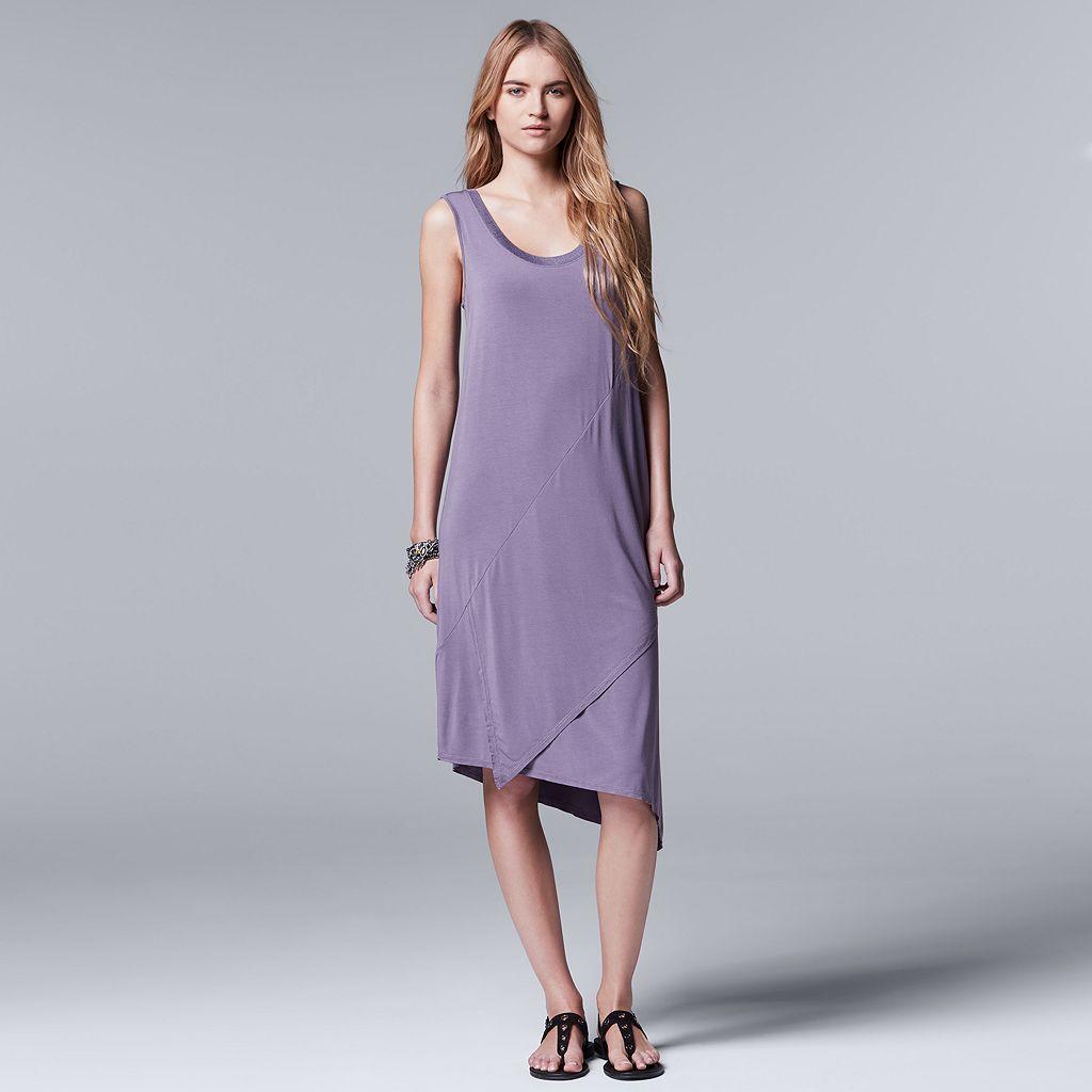 Women's Simply Vera Vera Wang Simply Separates Asymmetrical Dress