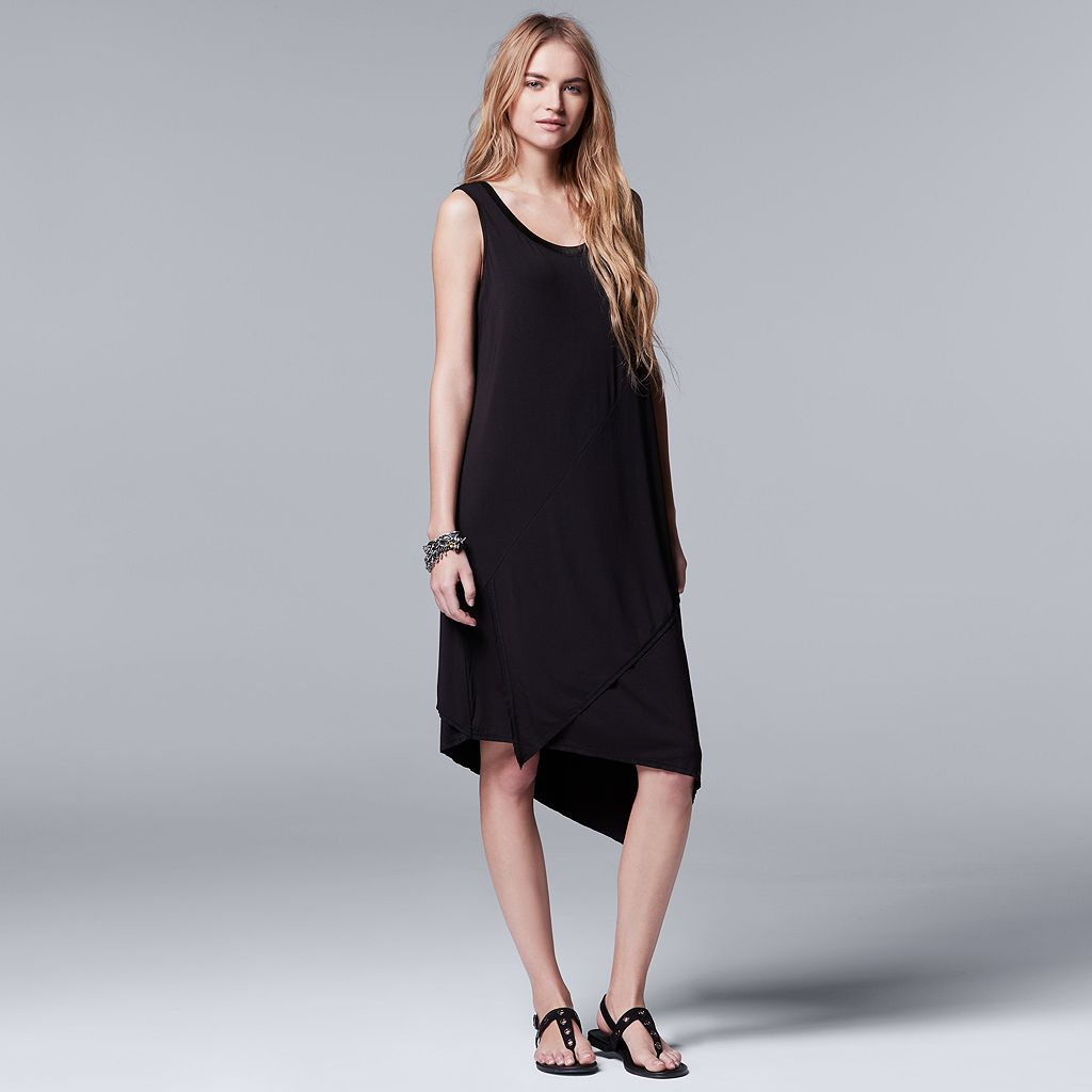Women's Simply Vera Vera Wang Simply Separates Asymmetrical Dress