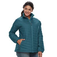 Plus Size Columbia Oyanta Trail Thermal Coil® Puffer Jacket