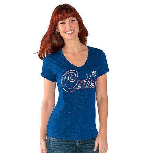 Women's Chicago Cubs Breakaway Tee