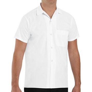 Men's Classic-Fit Button-Down Cook Shirt